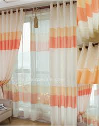 Coral Patterned Curtains Cool Inspiration Ideas
