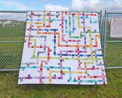 Patterns by Elizabeth Hartman — TOKYO SUBWAY MAP QUILTS pdf quilt ... & Image of TOKYO SUBWAY MAP QUILTS pdf quilt pattern Adamdwight.com