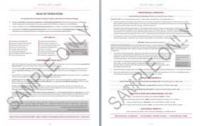 2 Page Resume Samples Two Page Resume Sample Lovely Two Page Resume