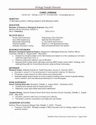 Clinical Research Assistant Resume Best Of Research Assistant Resume