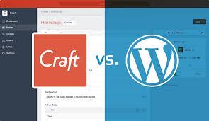 WordPress Vs Craft - The Battle Of The Super CMS - To Start a Website