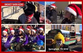 Smokey Films EVERY Christmas Parade In Robertson County: PLUS FUN ...