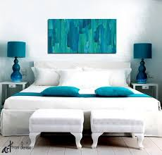 abstract canvas wall art abstract floral painting giclee print teal turquoise blue brown artwork wall art bedroom wall art home decor dining room wall decor on canvas wall art bedroom with wall art designs abstract canvas wall art abstract floral painting