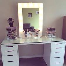 vanity table with drawers bedroom