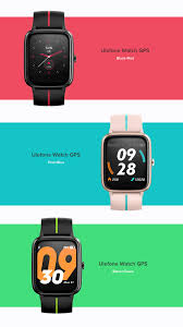 Ulefone Watch GPS Smartwatch Built-in ...