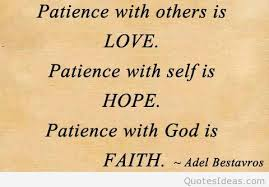 hope faith and patience quote