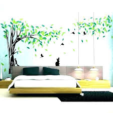 wall trees stick on wall art trees living room decor stickers corner tree decal sticker decals