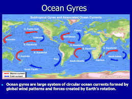 ocean currents. 15 ocean gyres are large system of circular currents formed by global wind patterns and forces created earth\u0027s rotation. e