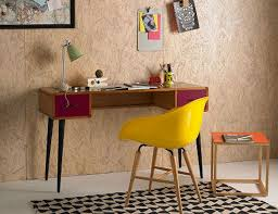 Image Headboard Red Desk And Yellow Chair From Urban Outtitters Furniture Range Urban Outfitters Colourful Beautiful Things Home Comforts For Students From Urban Outfitters Furniture