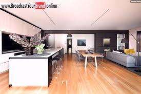 Wohnzimmer Küche Esszimmer In Einem Offen Holzboden - YouTube