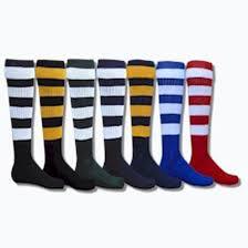 soccer apparel socks red lion hoop rugby socks
