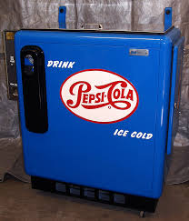 Vintage Pepsi Vending Machine Parts Enchanting Sliderbox Machines Antique Refinishing Services