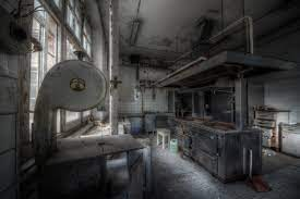hotel, Canon, kitchen, decay, factory ...