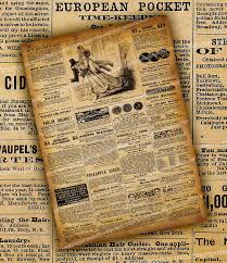 Old West Newspaper Template 14 Old Newspaper Templates Free Sample Example Format