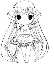 Chibi Coloring Page Coloring Page Coloring Pages Coloring Pages