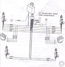 central door locking kit 5 wire reverse polarity diagram at 5 Wire Central Locking Actuator Wiring Diagram