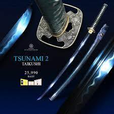 ดาบซามูไร TSUNAMI TAIKUSHI 2 By Sakuraki Taikushi