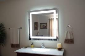 diy led makeup mirror
