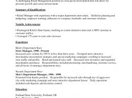 Purchasing Resume Objective Inspiration Resume Objective Examples For Retail Also Sample Free 20