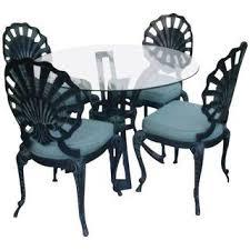 art deco outdoor furniture. art deco outdoor patio furniture table u0026 4 chairs o