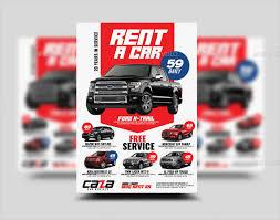25 Car Rental Flyer Templates Free Premium Download