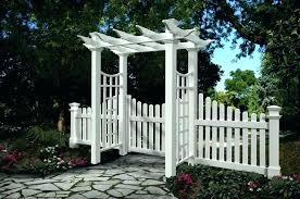 garden arch with gate white garden arbor white garden gates photo of arbor gate new arbor