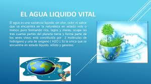 Tarea 5 lizbeth saravia-el agua liquido vital