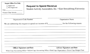 Budget Request Form Student Activity Association Funding Policies 20