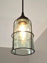 Glass jar pendant light Galvanized Rust Cage Half Gallon Mason Jar Pendant Light Out Of The Woodwork Designs Pine Ivy Rust Cage Half Gallon Mason Jar Pendant Light