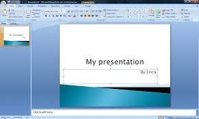 Ms Powerpoint Examples How To Create A Powerpoint Presentation 8 Steps