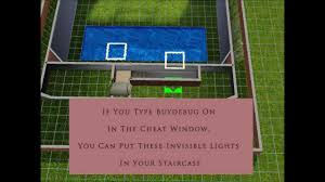 Invisible Lights Sims 3 Sims3 Tutorial Foundation And Basement Together