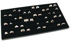 jewelry display box. Fine Display Amazoncom Novel Box Glass Top Black Jewelry Display Case 72 Slot  Compartment Ring Tray Home U0026 Kitchen On I