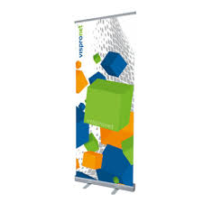 Pull Up Display Stands Simple Roll Up Standard Retractable Banner Stands For Advertising Trade