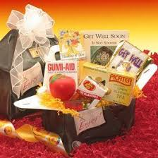 get well gift baskets corporate gifts feel good care packages stress ball