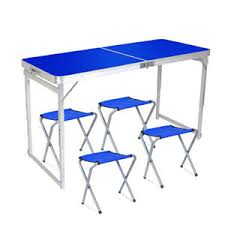 image is loading foldingpicnictablesetportablelargecollapsiblepicnic collapsible picnic table t57