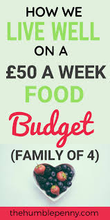 Budgeting For A Family Of 4 How We Live Well On A 50 A Week Food Budget Family Of 4 Comfort