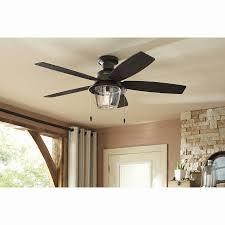 chandelier ceiling fan lights kit new hunter allegheny 52 in new bronze outdoor flush mount