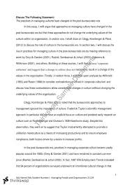 mpo essay practices in managing culture in post bureacratic mpo essay 1 practices in managing culture in post bureacratic era