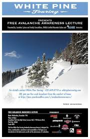 Jans Sport Park City Avalanche Awareness Clinic Live Webcast Tonight At 6 30 Mst
