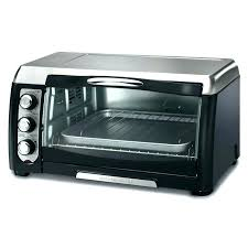 countertop toaster oven reviews black