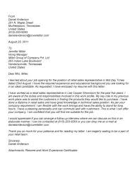 Sales Representative Cover Letter Sample Sales Rep Cover Letter