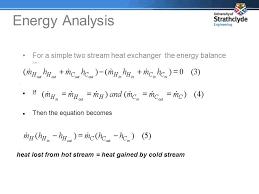 energy balance equation of heat exchanger jennarocca