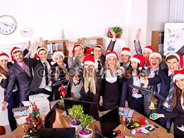 business people at office party stock photo copy poznyakov  business people at office party stock image