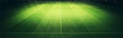 Green Grass Soccer Field Background Green Lawn Football Field