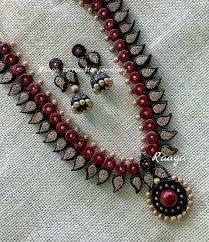 Funky Necklace Designs Terracotta Jewellery Terracota Jewellery Terracotta