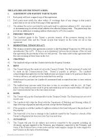 Tenancy Contract Template. Rental Agreement Template Lease Contract ...
