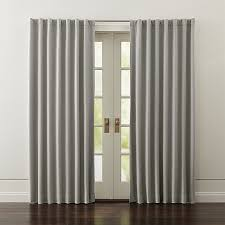 harmonizing with both contemporary and traditional interiors our grey cotton wallace curtain panels frame windows