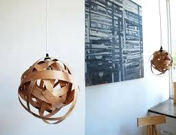 wood pendant lighting. Wood Pendant Light Fixture View In Gallery Woven Veneer Lamp Wooden Fixtures Lighting E