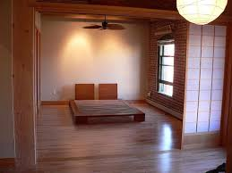Shoji Screen in a bedroom