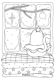 Best 99 Coloring Pages Gratis Kleurplaat Kerst Kat Free Coloring